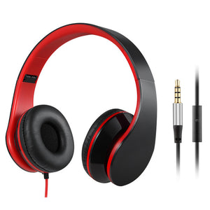 Foldable Stereo Casque Audio Heaphone 3.5mm
