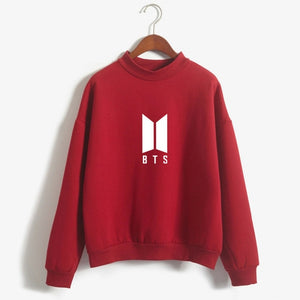 BTS Kpop Moletom Women Hip Hop Sweatshirt