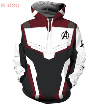 Avengers Endgame Quantum Realm Cosplay Costume Hoodie