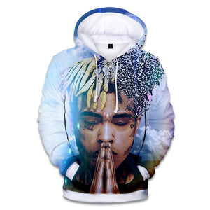 xxx Tentacion Cotton Hoodies