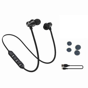 Magnetic attraction Bluetooth Earphone Headset waterproof sports 4.2
