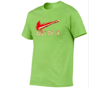 Walking Dead Meat JUST DO IT Print T-shirt