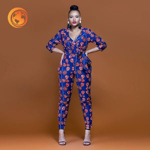 summer sexy african women jumpsuit
