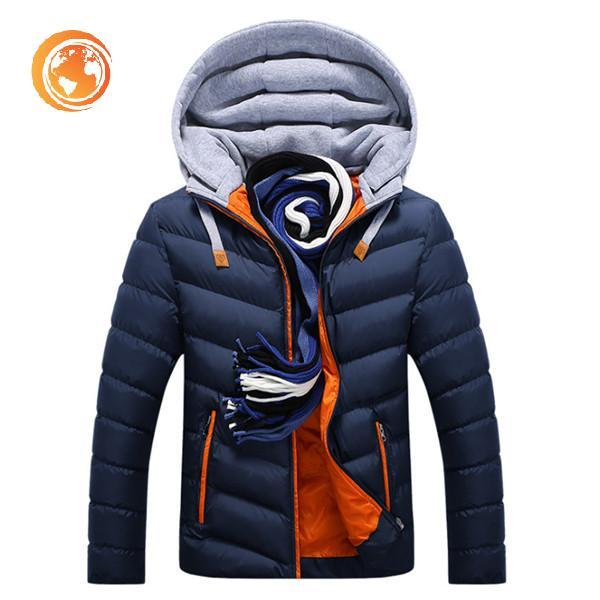 Winter Jacket Cotton-Padded
