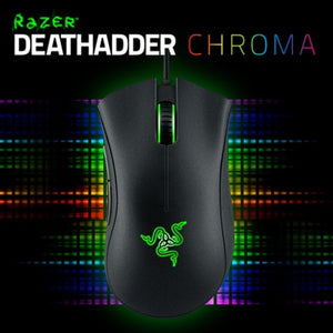 Razer Deathadder Gaming Mouse 3.5G (Blue Light), 2013 ( Green LIght), Chroma (Red Option)