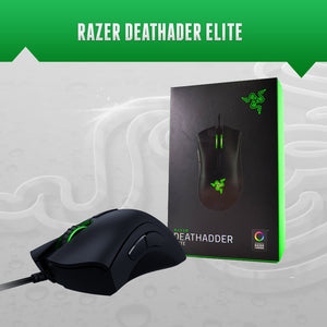 Razer Deathadder Elite Gaming Mouse, 16000 DPI, Synapse 3.0