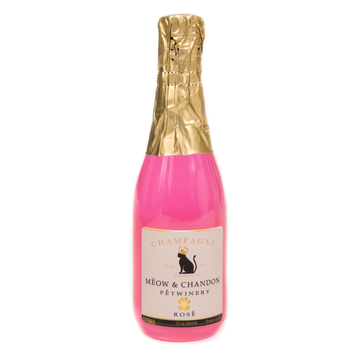 Pet Winery X CD - Meow & Chandon Ròse (12 oz)