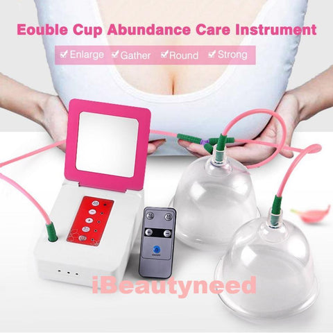 Beauty.N.Q Electric Vacuum Breast Enlargement Suction Massager Pump Cupping Machine