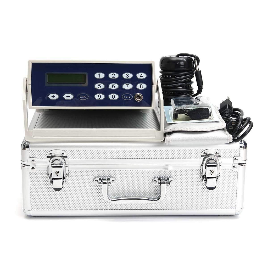 Professional Ionic Detox Foot Bath Spa Cleanse Machine w/ Fir Belt-iBeautyneed