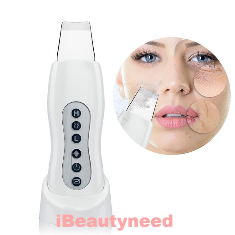 Ultrasonic Vibration Face Peeling Cleaner Tone Lift Skin Scrubber - ibeautyneed
