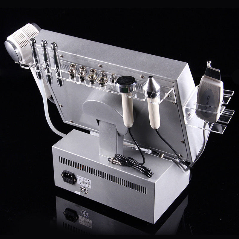 4 in 1 Diamond Microdermabrasion Dermabrasion Ultrasonic Peeling Hot and Cold Machine-iBeautyneed