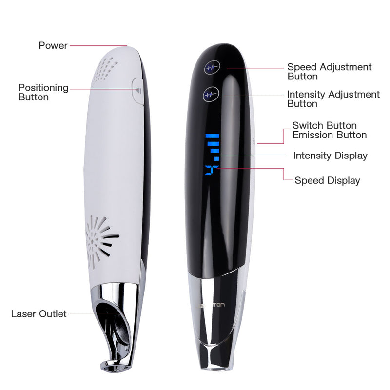 Upgrade Laser Picosecond Pen Tattoo Freckle Mole Spot Removal Pen-iBeautyneed