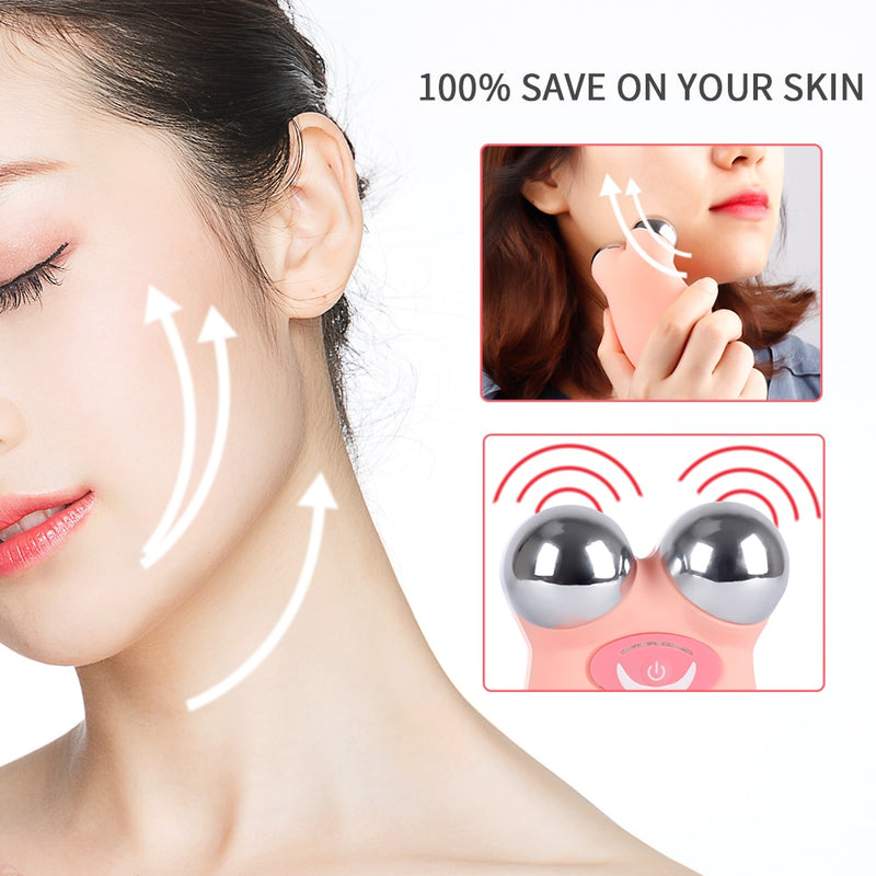 Mini Microcurrent Face Lift Machine Multifunction V-face Face Massager