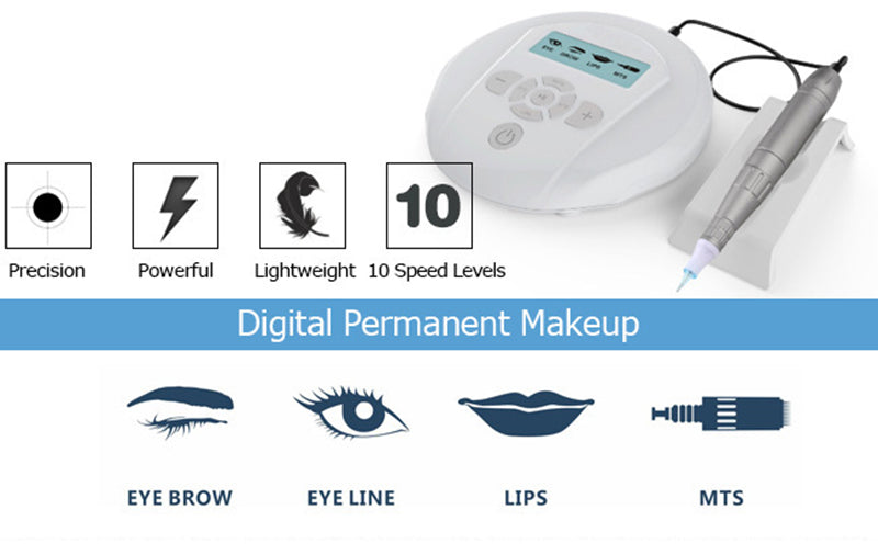 Artmex V6 Permanent Makeup Eyebrow Tattoo Machine With Digital Control Panel - ibeautyneed