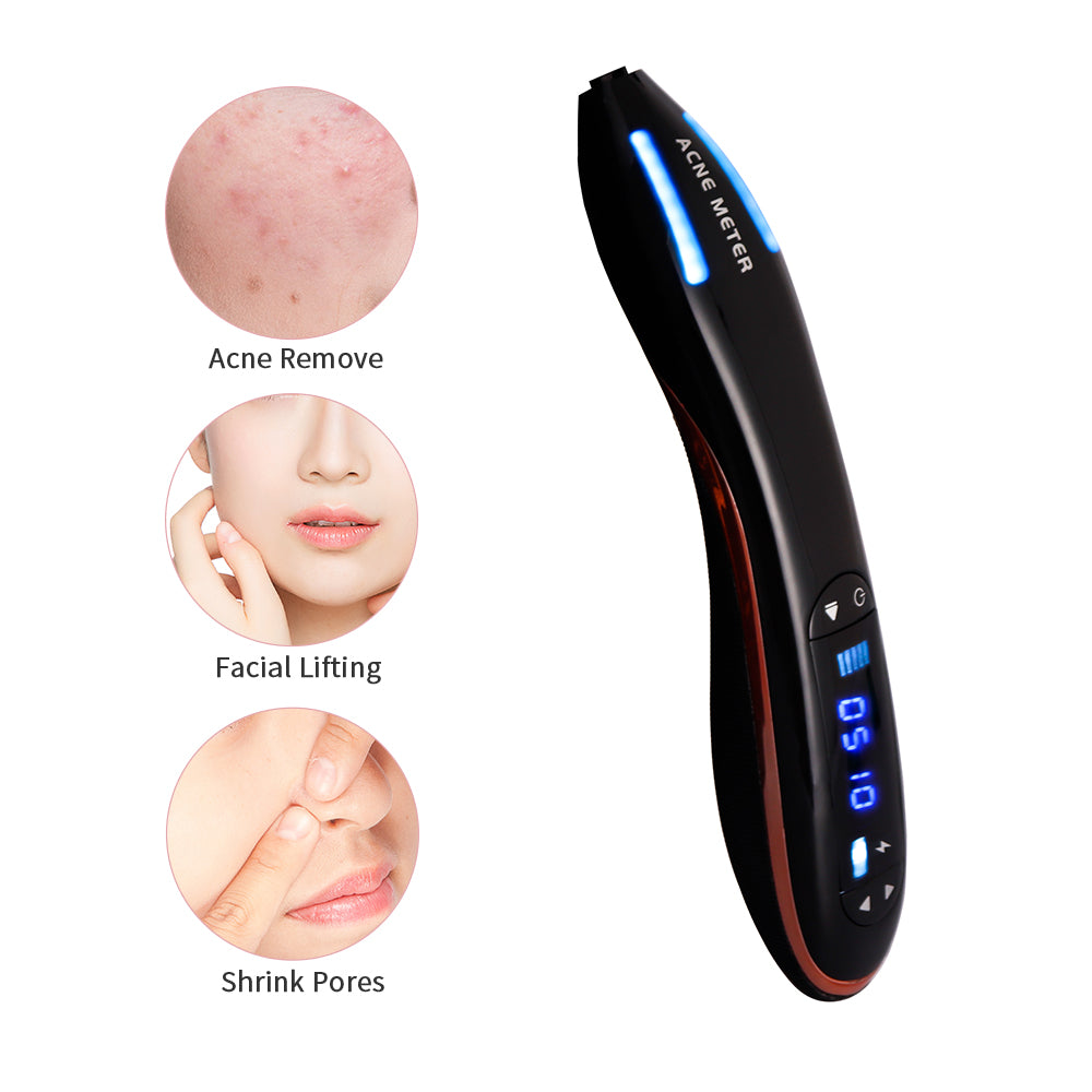 Acne Meter Blue Light Plasma Pen for Spots Acne Removal-iBeautyneed