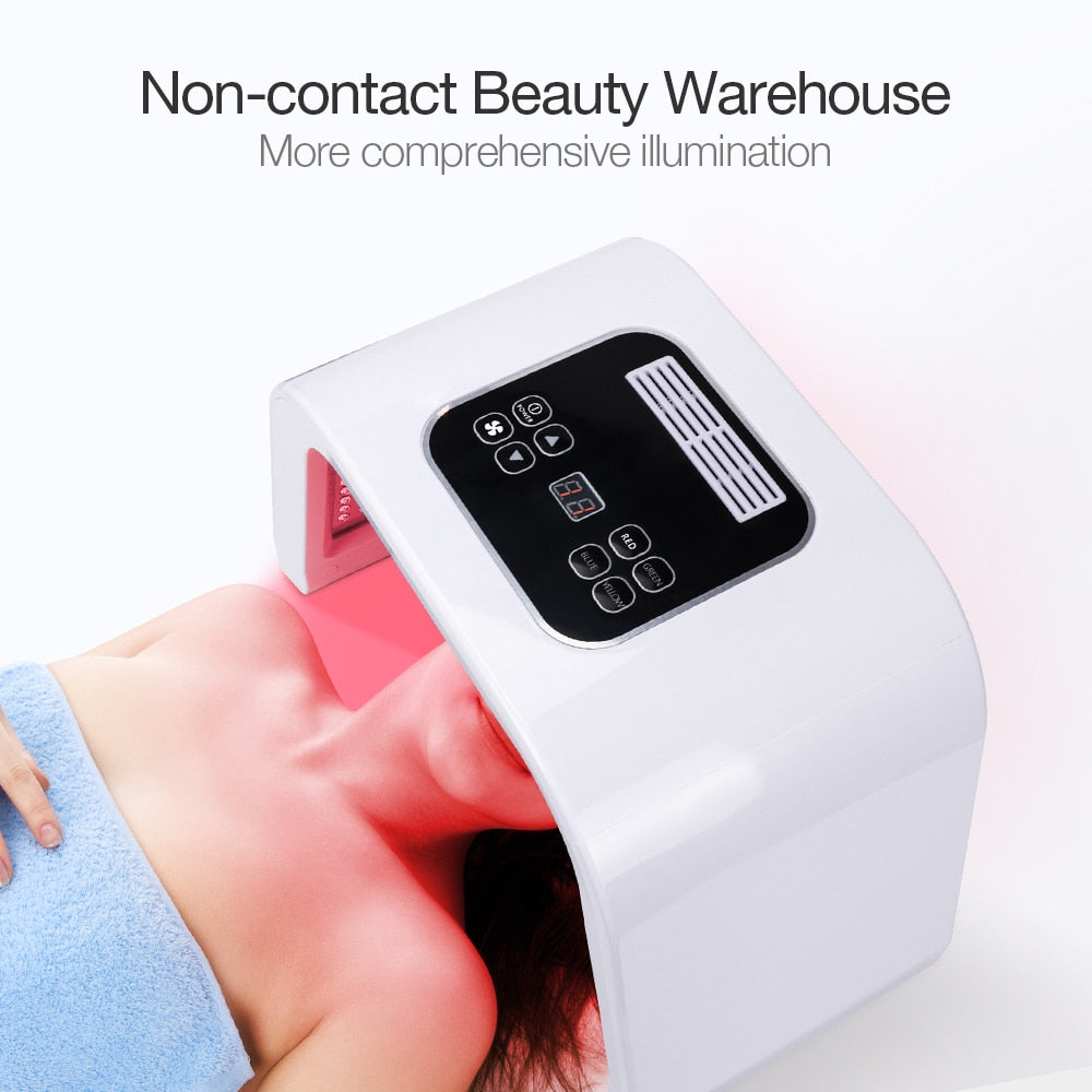 7 Colors PDF Led Photon Skin Rejuvenation Acne Removal Mask-iBeautyneed