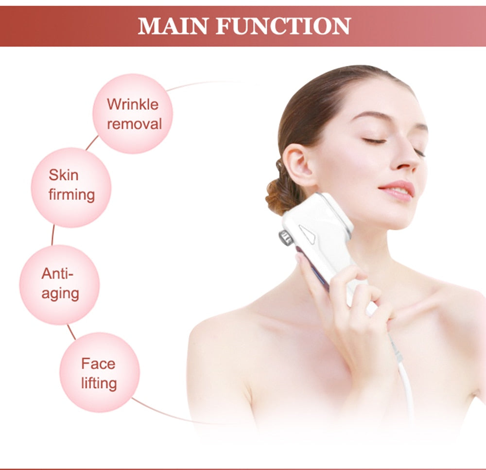 HelloSkin Mini HIFU Ultrasonic Anti Aging Wrinkle Removal Face Beauty Machine-iBeautyneed