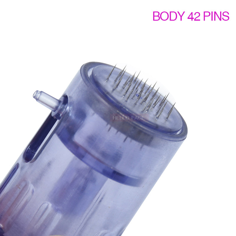 10 Pcs Microneedle Cartridges For 2 in 1 Hydra Injector Derma Pen Mesogun-iBeautyneed