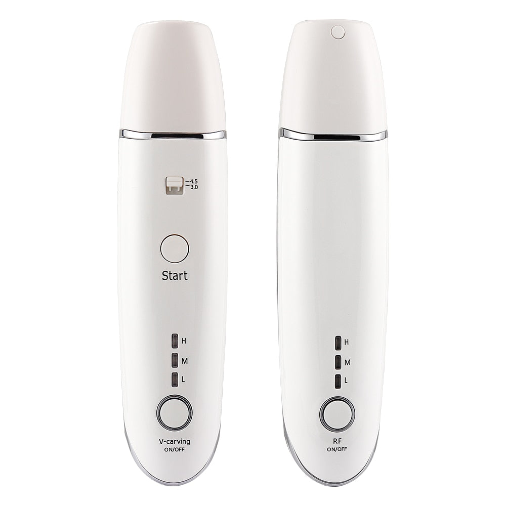 Mini Hifu Ultrasonic RF Face Lifting Wrinkle Removal Anti-Aging Beauty Device