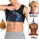 Sweat Body Shaper Sauna Vest Slimming Gym Yoga Sports Thermal Vest