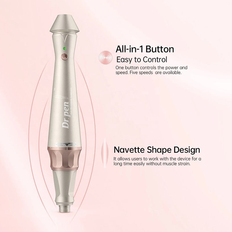 Dr.pen E30-C Microneedling Derma Pen Wired Electric Derma Pen Skincare Treatment