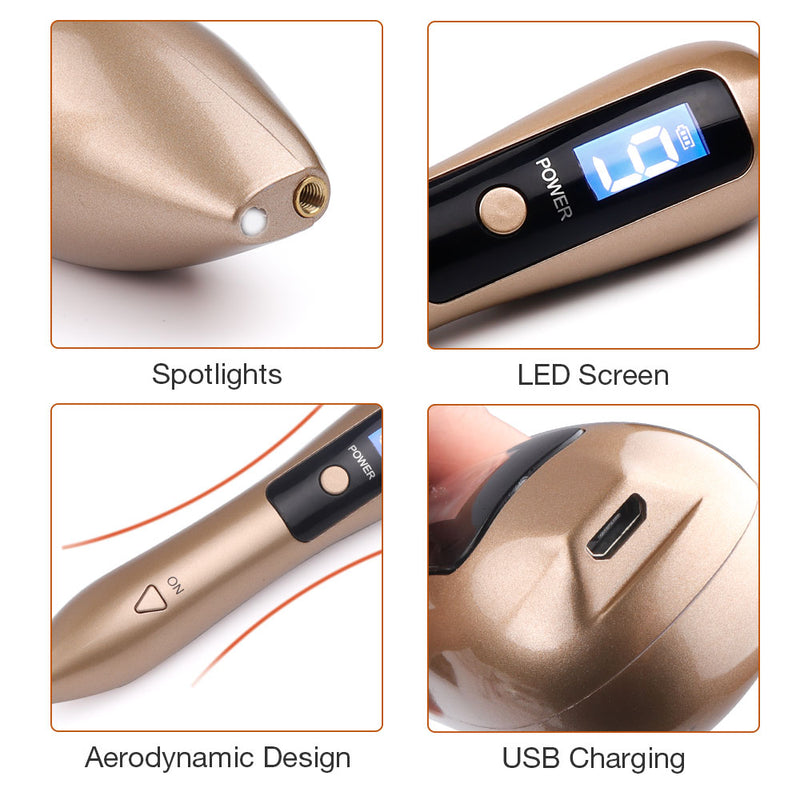 9 Level Laser Plasma Pen Mole Freckle Removal Dark Spot Remover Pen