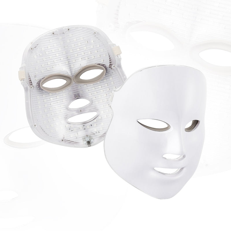 7 Colors LED Face Mask Photon Light Therapy Skin Rejuvenation Mask