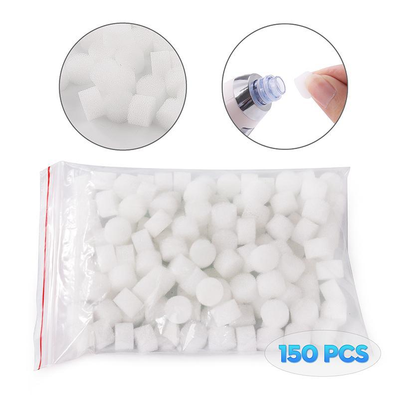 150 Pcs 12mm Replacement Filter Sponge For Vacuum Blackhead Removal Machine - ibeautyneed