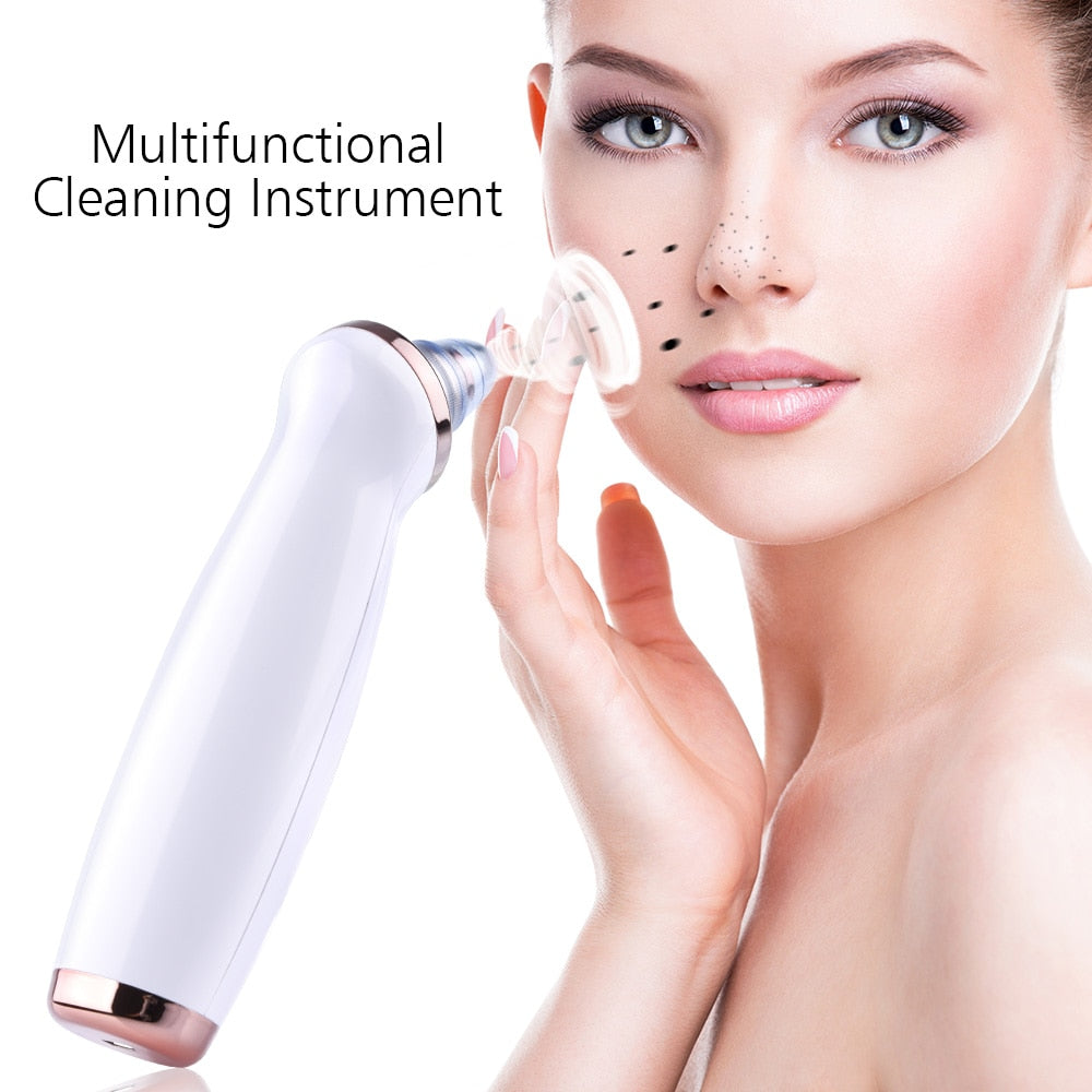 4 Heads and 3 Levels Vacuum Blackhead Suction Face Care Machine - ibeautyneed