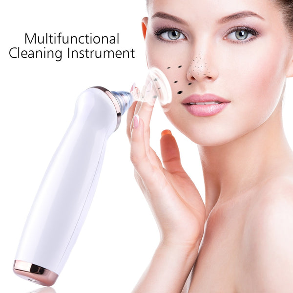 4 Heads and 3 Levels Vacuum Blackhead Suction Remover Dermabrasion Machine - ibeautyneed