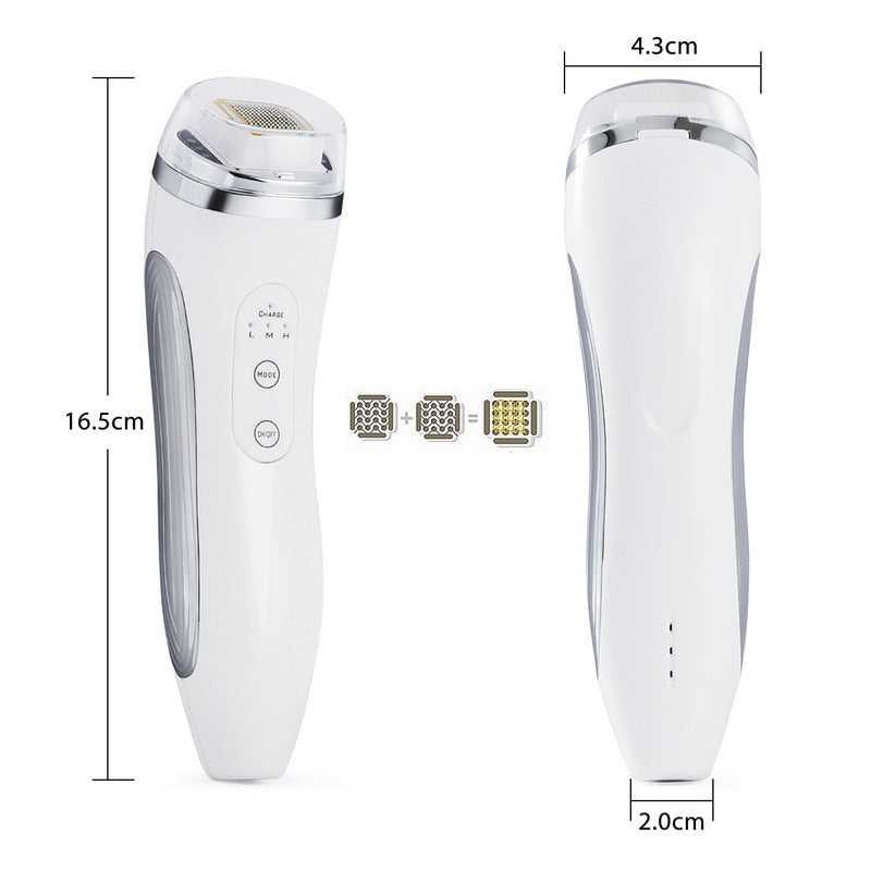 Rechargeable RF Dot Matrix Facial Skin Tightening Wrinkle Removal Beauty Machine - ibeautyneed