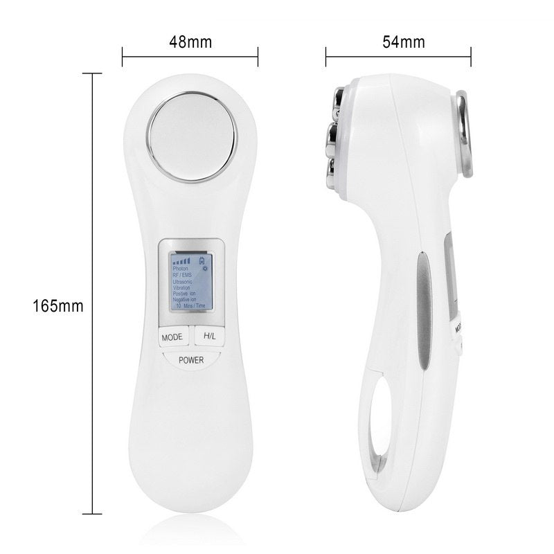 6 in 1 Ultrasonic RF & EMS Anti Aging Skin Care Facial Beauty Device-iBeautyneed