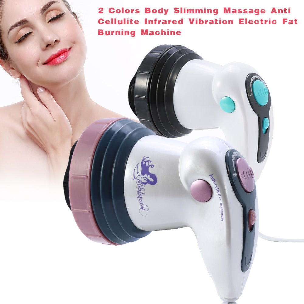4 In 1 Electric Vibration Infrared Anti-cellulite Body Slimming Massager - ibeautyneed