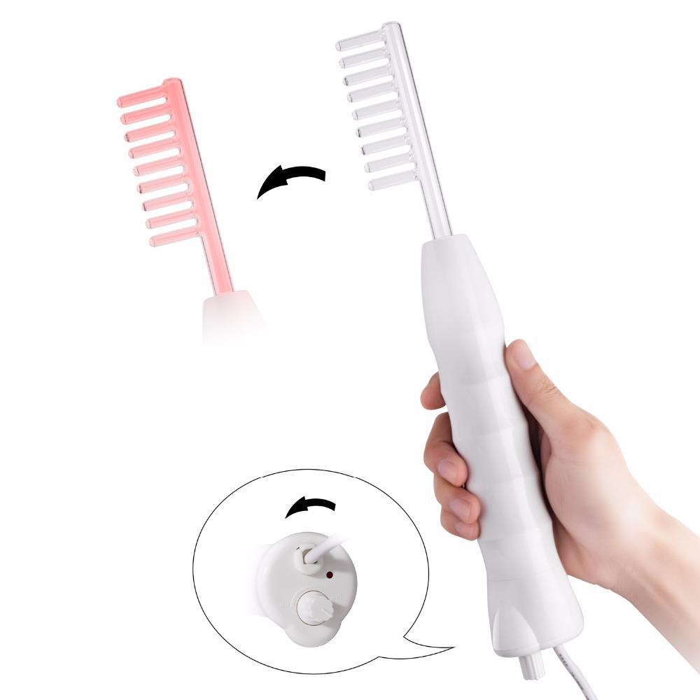 4 in 1 Portable High Frequency Facial Wand Wrinkle/ Spot/ Acne/ Mole Eraser - ibeautyneed