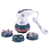 4 In 1 Electric Vibration Infrared Anti-cellulite Body Slimming Massager-iBeautyneed