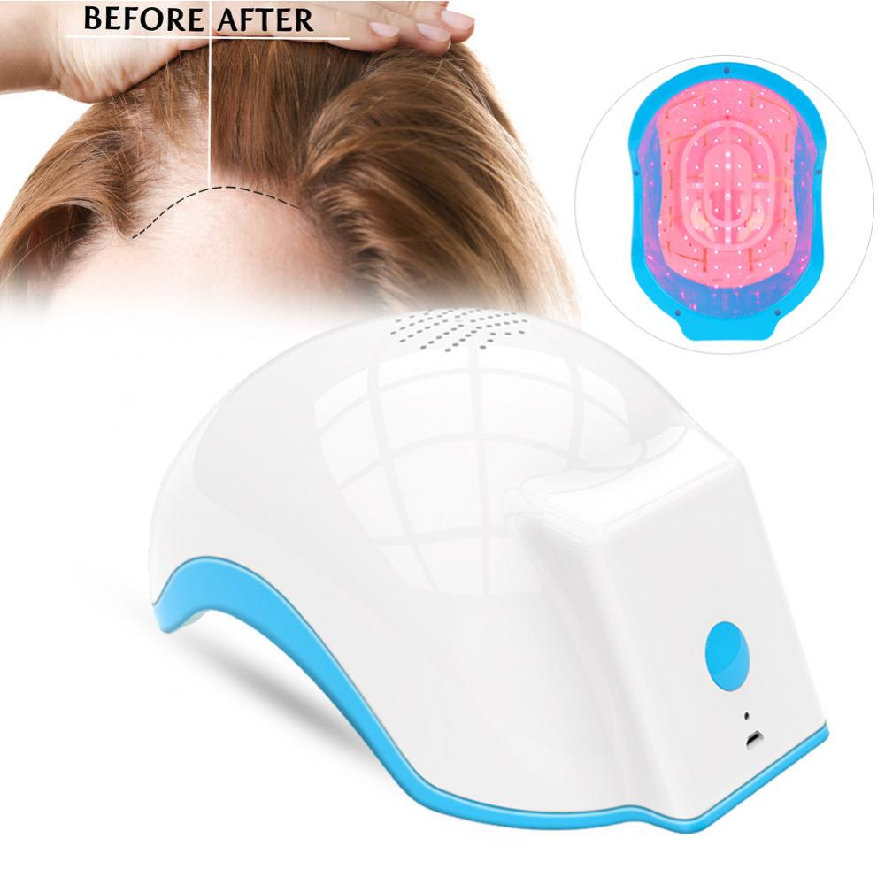 Laser Therapy Hair Growth Helmet Device Anti Hair Loss Cap - ibeautyneed