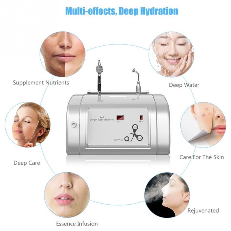 2 in 1 Oxygen Injection Oxygen Spray Skin Rejuvenation Beauty Salon Machine-iBeautyneed