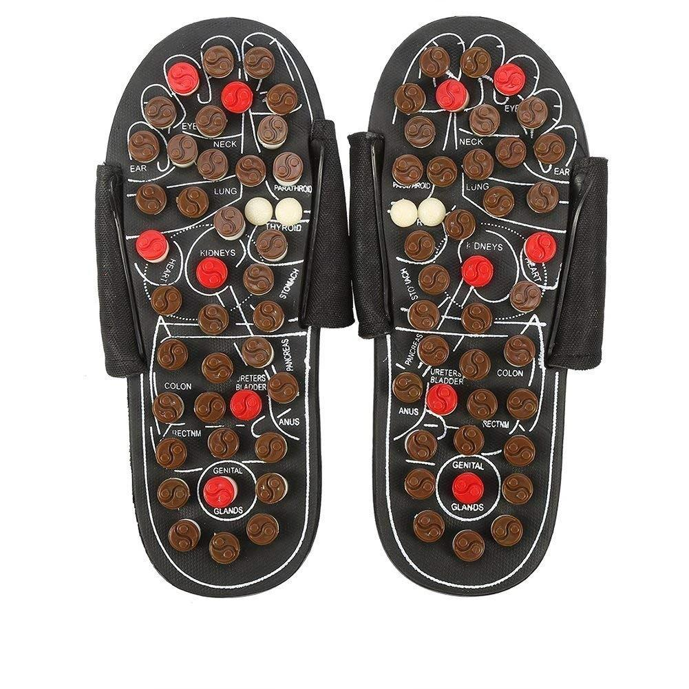 Foot Massage Slippers Acupuncture Therapy Massager Sandal - ibeautyneed
