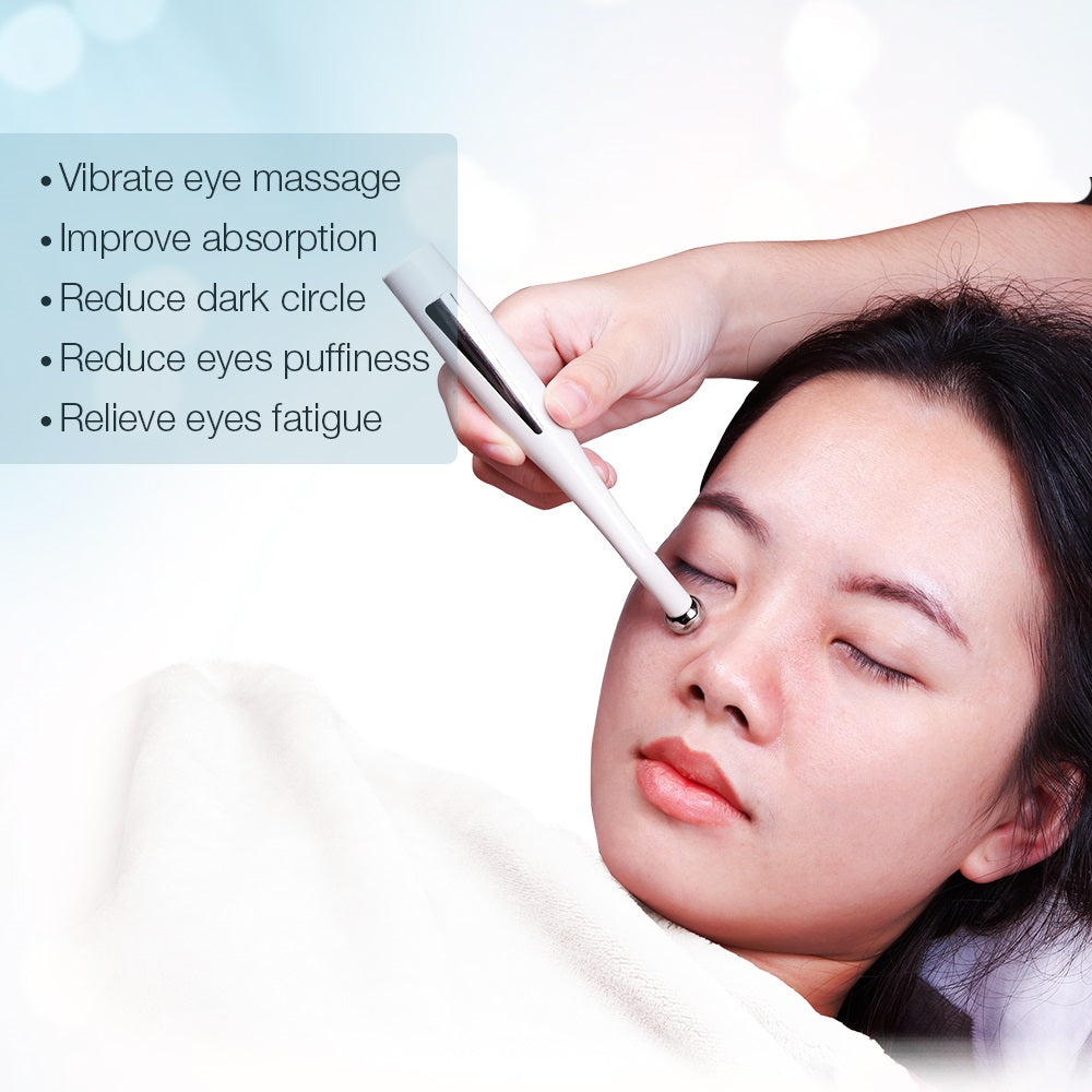 2 in 1 Electric Anti Wrinkle Micro-current Negative Ion Eye Massage - ibeautyneed