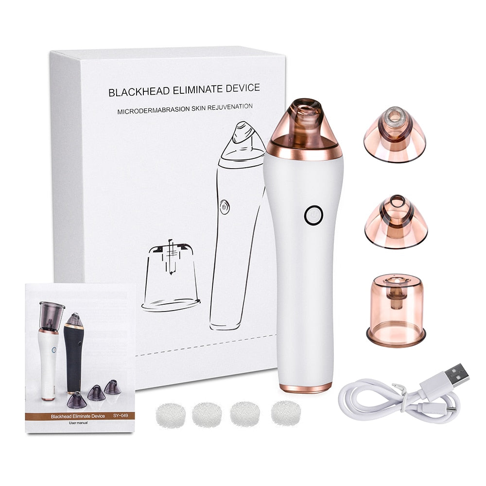 Electric Cupping Guasha Acupoints Vacuum Massager Blackhead Eliminate Machine - ibeautyneed