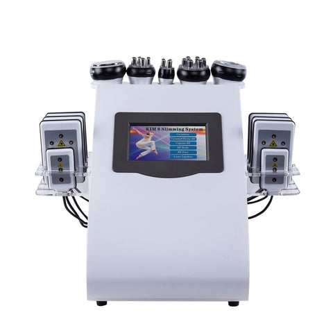 6 in 1 Ultrasonic Cavitation RF Vacuum Slimming Cellulite Machine-iBeautyneed