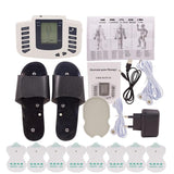 Electrical Muscle Stimulator Therapy Pulse Tens Acupuncture Full Body Massager - ibeautyneed