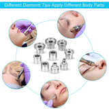 3 in 1 Diamond Microdermabrasion Vacuum Spray Therapy Dermabrasion Machine - ibeautyneed