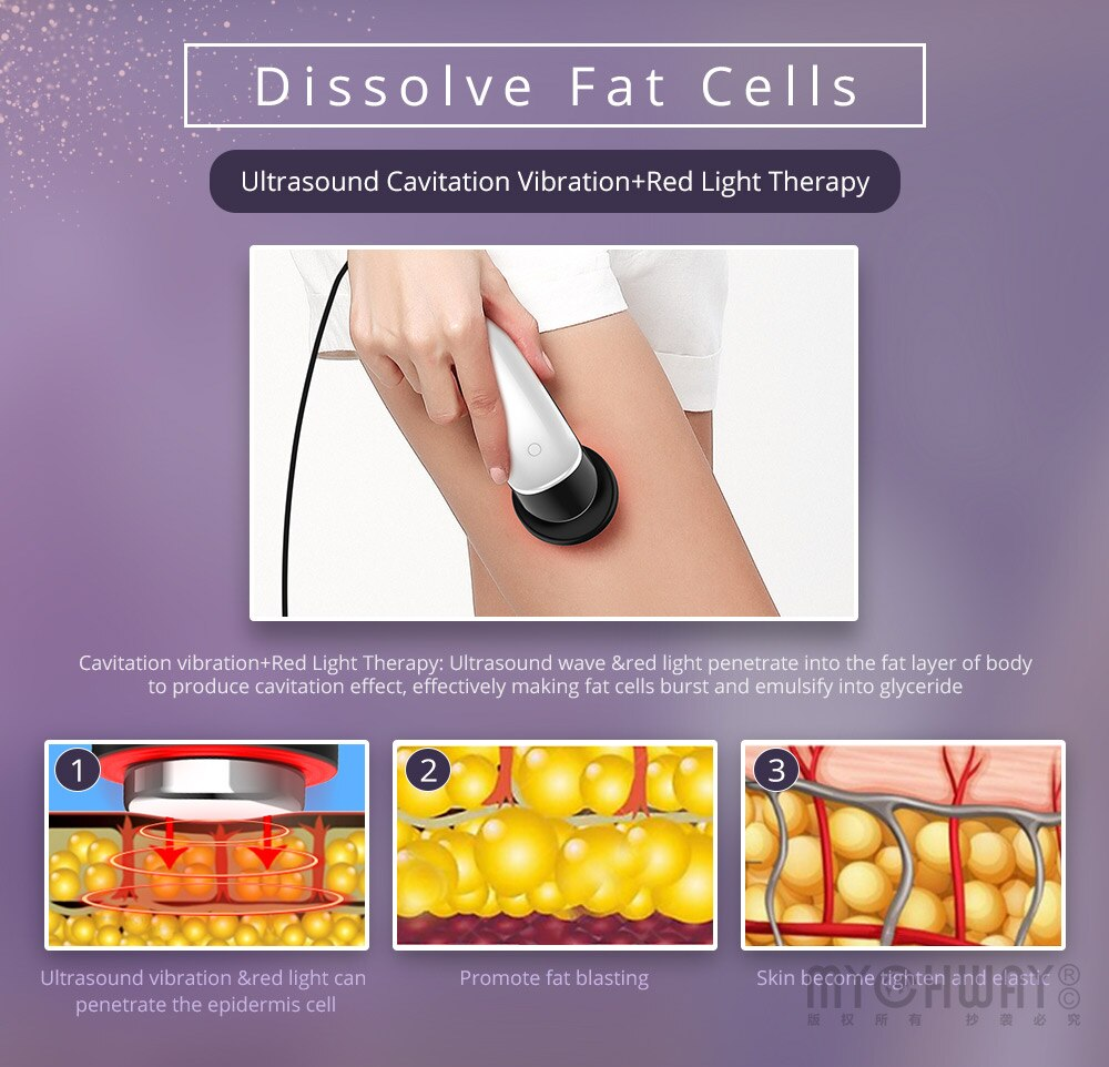 3 in 1 Infrared Ultrasonic Cellulite Removal Body Slimming Machine - ibeautyneed