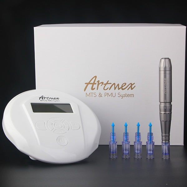 Artmex V6 Permanent Makeup Eyebrow Tattoo Machine With Digital Control Panel-iBeautyneed