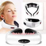 Electric Acupuncture Magnetic Therapy Neck Massager Cervical Vertebra Treatment-iBeautyneed