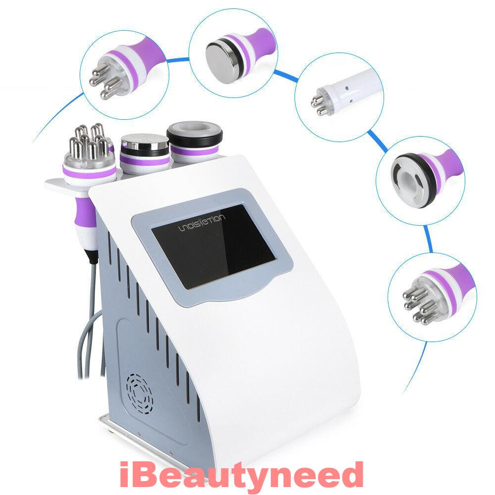 5 in 1 Vacuum Ultrasonic Cavitation RF Fat Reduction Laser Lipo Machine-iBeautyneed