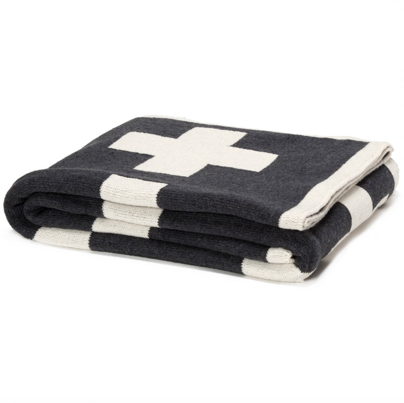 Eco Swiss Cross Reversible Throw
