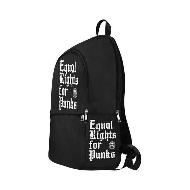 No Fixed Abode Equal Rights for Punks Adult Backpack