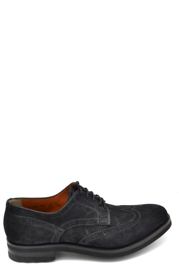 Derby shoes Santoni chamois